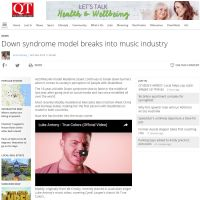 Down Symdrome Model Breaks Into Music Industry