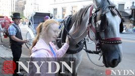 Madeline Stuart Enjoying NYC After Fashion Week Debut