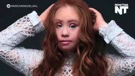 Madeline Stuart NYFW by NowThis Media