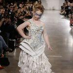 Madeline Stuart Models Hendrik Vermeulen at NYFW Sep 2015
